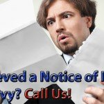 Notice of Intent to Levy – Ways to Resolve the Problem